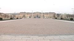 Schonbrunn Palace, Vienna, Austria Stock Footage