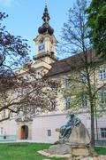 linz - landhaus / upper austrian landtag / parliament - stock photo