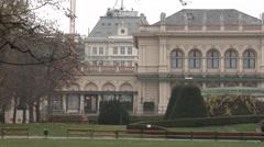 Burggarten, Vienna Stock Footage