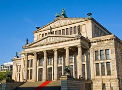 The Konzerthaus at Gendarmenmarkt Stock Photos