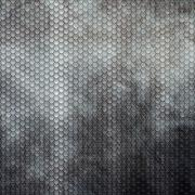 Silver Metal Grid Texture Stock Illustration