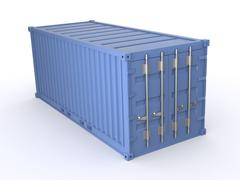 freight container - stock illustration