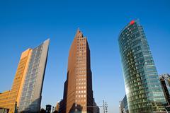 Potsdamer Platz in Berlin - stock photo