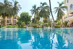 Spa resort swimming  pool Stock Photos
