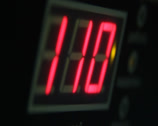 Stock Video Footage of Bomb digital timer countdown and explosion., click for HD