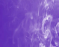 White smoke & fume on a blue color background. Fire not in shot., click for HD - stock footage