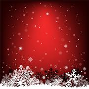 Dark red snow mesh background Stock Illustration