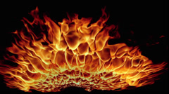 Fire Explosion Stock Footage