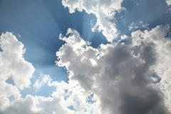 heaven sky cloudscape - stock photo