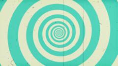 Vintage Hypno Circle HD - stock footage