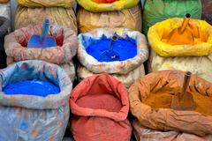 paint pigment for sale - stock photo