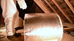 Insulation 1 Stock Footage
