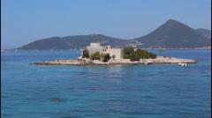 Mediterranean, St Jelena island Stock Footage