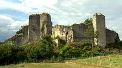 Chateau Gaillard (1) - Les Andelys, France Stock Footage