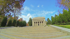 Lincoln Birthplace Federal Building 1 HD Stock Footage