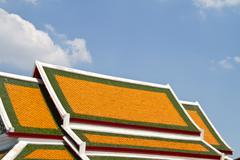 phra pathom chedi, the tallest stupa in the world. it is located in the town  - stock photo