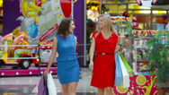 Stock Video Footage of Glamorous Shopping