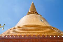 Phra pathom chedi, the tallest stupa in the world Stock Photos