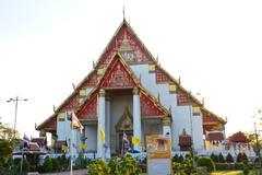 Wat Phra Sri Sanphet Temple, Ayutthaya Province, Thailand Stock Photos