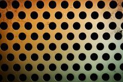 circular metal grill texture - stock photo