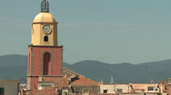 Saint Tropez Tower #02 Stock Footage
