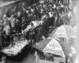 Stock Video Footage of 1903 - New York Ghetto - Fish Market - 01