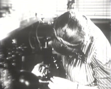 1918 - 1945 - Women Working Wartime - Laboratory - 02 Stock Footage