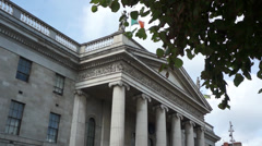Dublin GPO - O'Connell Street Stock Footage