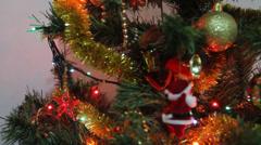 Christmas Tree-004 Stock Footage