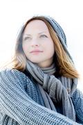 Stock Photo of Portrait of a beautiful woman