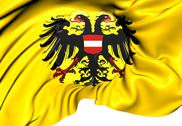 Stock Illustration of holy roman empire flag