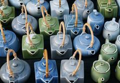 Ceramics pitcher Stock Photos