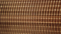 Infrared heater - stock footage