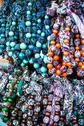 Stock Photo of colorful beads according to the art of contemporary mountaineers from zakopan
