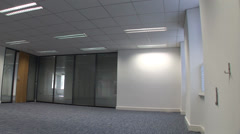 Vacant Office Stock Footage
