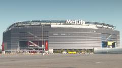 MetLIfe Stadium Stock Footage