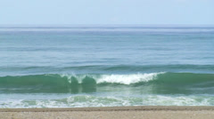 Sea Waves, Turbulent Water, Horizon Ahead Stock Footage