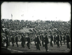 1920s Marching Band Stock Footage
