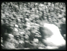 University Football Game 1930s Stock Footage