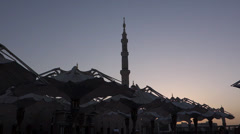 MADINAH CANOPY2 Stock Footage