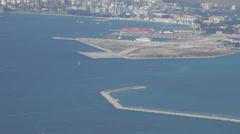 Gibraltar Bay Stock Footage
