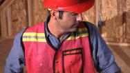 Stock Video Footage of Construction worker portrait