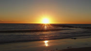 Stock Video Footage of Beautiful Pacific Ocean Sunset