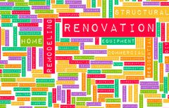 Renovation Stock Illustration