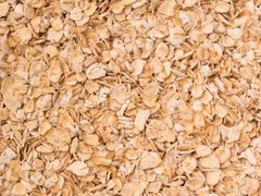 quick oats - stock photo