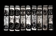 Stock Photo of addiction concept