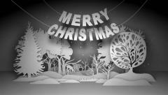 Merry Christmas And Happy New Year - stock after effects