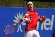Stock Photo of Japanese tennis player Kei Nishikori