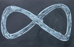 infinity sign - stock photo