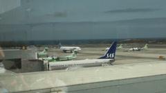Condor Lentoyhtiöt Aeropuerto de Gando Gran Canarialla Arkistovideo